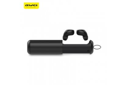 AWEI T5 True Wireless Earbuds With Charging Case