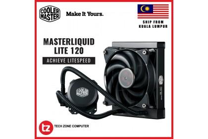 Cooler Master MasterLiquid Lite 120 AIO CPU Liquid Cooler (MLW-D12M-A20PW-R1)