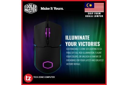 Cooler Master CM110 6000 DPI Optical Sensor Gaming Mouse