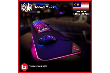 Cooler Master Masteraccessory MP860 RGB Dual-sided Gaming Mousepad