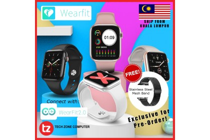 Wearfit W88 OLED Bluetooth Fitness Tracker with Voice Call Smart Watch