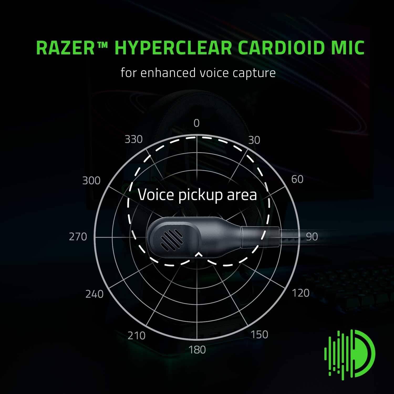 Razer BlackShark V2 X Lightweight E-Sports Wired Gaming Headset  (RZ04-03240100-R3M1)