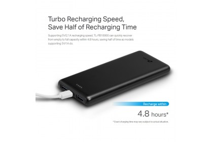 TP-Link TL-PB10000 10000mAh Li-Polymer Power Bank (2 Year Warranty)