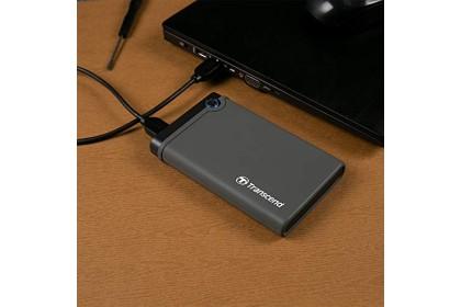 """Transcend StoreJet 25CK3 2.5"""" SATA3 SSD/HDD Enclosure Kit USB 3.1 Gen 1"""