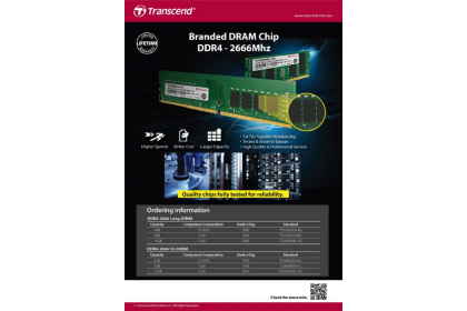 Transcend 4GB DDR4 2666MHz U-DIMM Desktop Branded RAM ( TS2666HLH-4G )