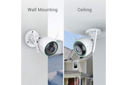 EZVIZ C3N 1080P Color Night Vision (2MP) Wireless IP67 Outdoor Security Camera