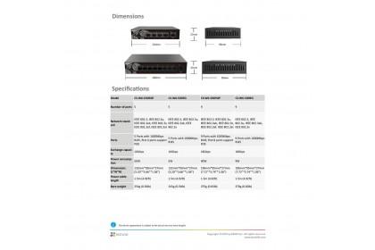 EZVIZ W6 5/9 Ports Gigabit POE Ethernet Switch