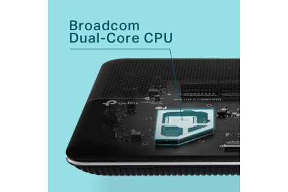 TP-LINK Archer VR600V AC1600 2.4Ghz + 5Ghz Wireless WiFi Streamyx Modem Router