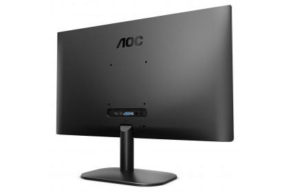 "AOC 24B2XH 24"" IPS FHD 75Hz Super Slim Profile and Narrow Bezels Flicker Free Monitor (VGA+HDMI+Audio Out)"