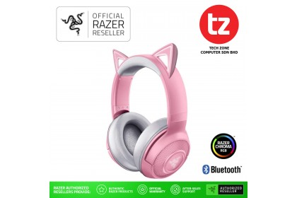 Razer Kraken BT Kitty Edition - Quartz Pink - Wireless Bluetooth Headset with Razer Chroma RGB (RZ04-03520100-R3M1)