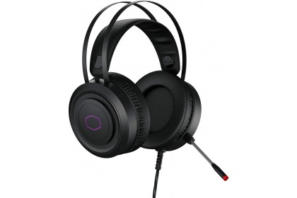 Cooler Master CH321 Over-Ear USB Wired RGB Logo Gaming Headset with Microphone (CH-321)