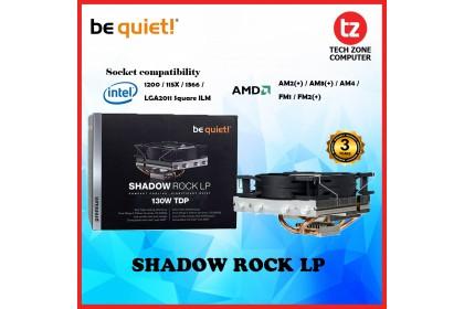 Be quiet! Shadow Rock LP Compact Cooling, Significant Quiet CPU Cooler (BQ-BK002)