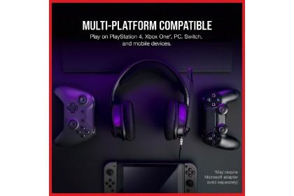 CORSAIR VOID ELITE SURROUND Premium Gaming Headset with 7.1 Surround Sound - Carbon (CA-9011205-AP)