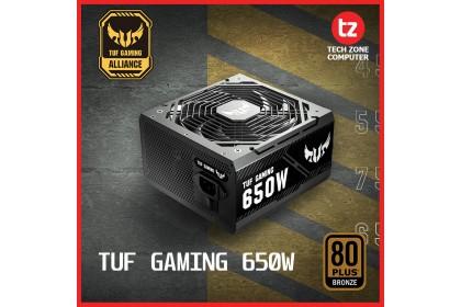 ASUS TUF GAMING 650W 80Plus Bronze PSU (TUF-GAMING-650B)