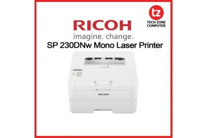 Ricoh SP230DNW Black & White Mono Single Print Laser Printer