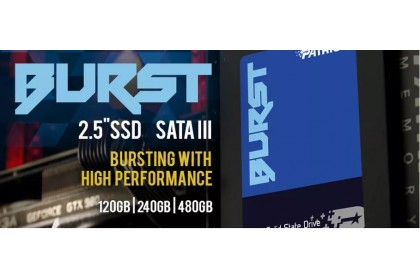 "PATRIOT Burst 2.5"" 120GB
