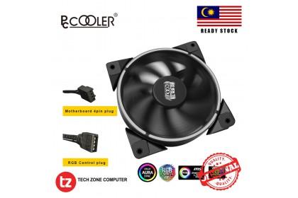 PCCooler Corona RGB 4Pin 120MM PWM Quiet PC Case Fan